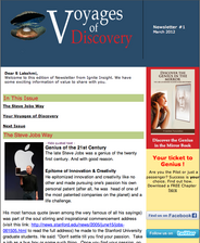 Voyages of Discover Newsletter #2